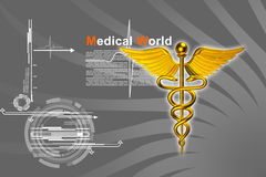 3d medical logo Stock Photo