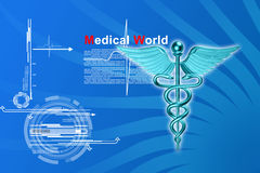 3d medical logo Stock Image