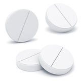 3d medicine pills Royalty Free Stock Photo