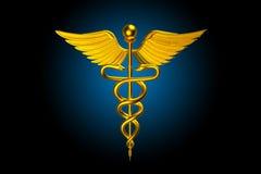 3d medisch embleem Stock Fotografie