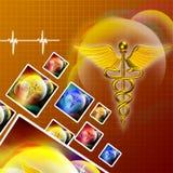 3d medisch embleem Royalty-vrije Stock Afbeeldingen