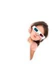 3D Meisje Stock Foto's