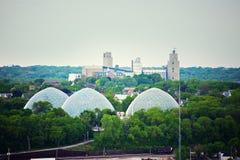 Dômes à Milwaukee Image stock