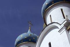 Dômes de photo de Sergiev Posad Photo stock