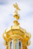 Dômes de Tsarskoye Selo Image libre de droits