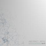 3D Mesh Backgroud abstrait gris Photographie stock