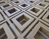 3d metaal abstract patroon Stock Foto's