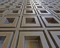 3d metaal abstract patroon Stock Afbeeldingen