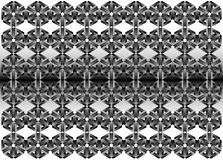 3d metal geometric pattern - Illustration, Wallpaper, Backgrounds, Royalty Free Stock Images