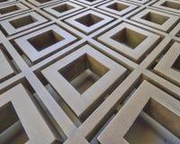 3d metallic abstract pattern Stock Photos