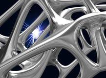 3D metalu Formalnie ilustracja/odpłaca się Obraz Stock