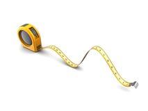 3d meter tape roulette Stock Image