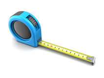 3d meter tape roulette Stock Photography