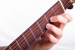 D minor chord Royalty Free Stock Photos