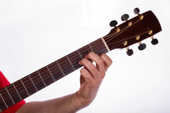 D minor chord Stock Photo