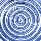 3D mirror spiral stock photo