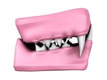 3d model of cat teeth cast. Stock Photo