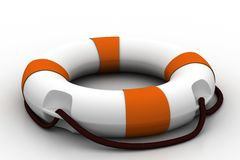 3d model of   lifebuoy Royalty Free Stock Photography