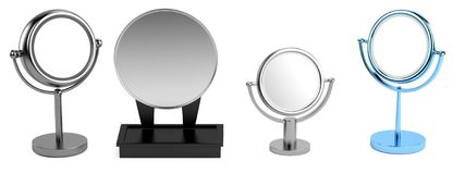 3d model of mirrors Royalty Free Stock Photos