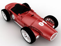 3d model of racing old car concept Royalty Free Stock Photos