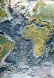 3d model van de wereldhulp Stock Afbeeldingen