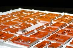 3D roman stad Stock Fotografie