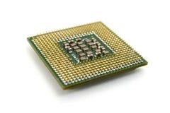 3d modela komputeru procesoru biel Zdjęcia Stock