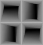 3d modello senza cuciture geometrico, fondo astratto illustrazione di stock
