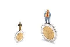 3 d modelu biznesowego abstrakcyjnych negocjacji Obrazy Stock