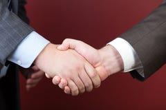 3 d modelu biznesowego abstrakcyjnych negocjacji Fotografia Stock