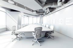 3d modern office conference room stock illustration