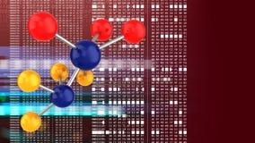 3d Molecule Royalty-vrije Stock Foto's