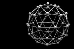 3d Molecule model Royalty Free Stock Images