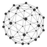 3D molekuły struktury tło projekt graficzny Fotografia Royalty Free