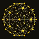 3D molekuły struktury tło projekt graficzny Zdjęcie Stock