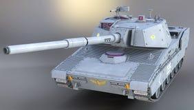 3d mondern zbiornik dla wojskowego Obraz Royalty Free