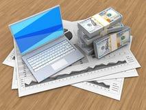 3d money Stock Image