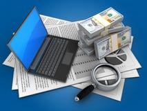 3d money Stock Photography