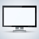 3d monitor vector illustration Royalty Free Stock Photography