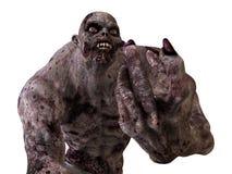 3D Monster van de Illustratiezombie Stock Foto's