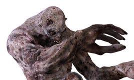 3D Monster van de Illustratiezombie Stock Fotografie