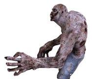 3D Monster van de Illustratiezombie Stock Foto