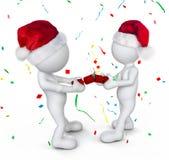 3D Morphs la celebrazione del Natale Immagine Stock Libera da Diritti