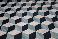 3D Mosaic Floor Design stock images
