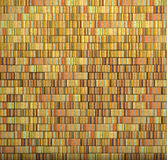3d mosaic tile brick wall in multiple color stripe Royalty Free Stock Photos