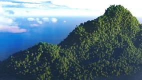 3D mountain Stock Photo
