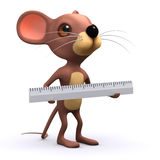 3d Mouse measures Stock Photo