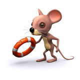 3d Mouse offers a lifesaver Royalty Free Stock Photography