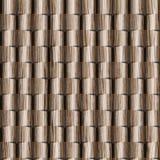 3D muur decoratieve tegels, Houten textuur, Decoratief het met panelen bekleden patroon royalty-vrije stock afbeelding