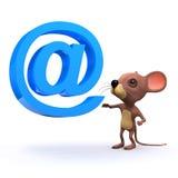3d mysz emaila adres Fotografia Royalty Free